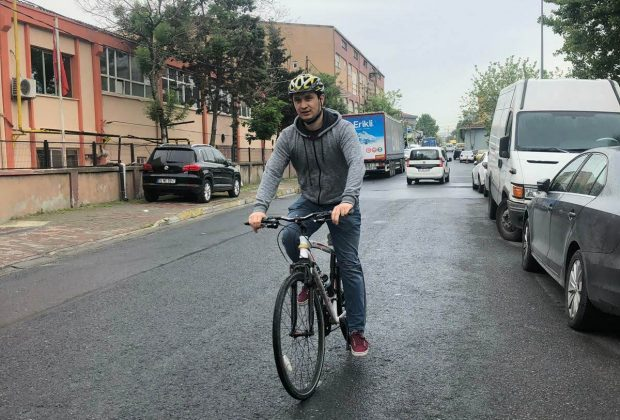 istanbulda bisikletle işe gitmek